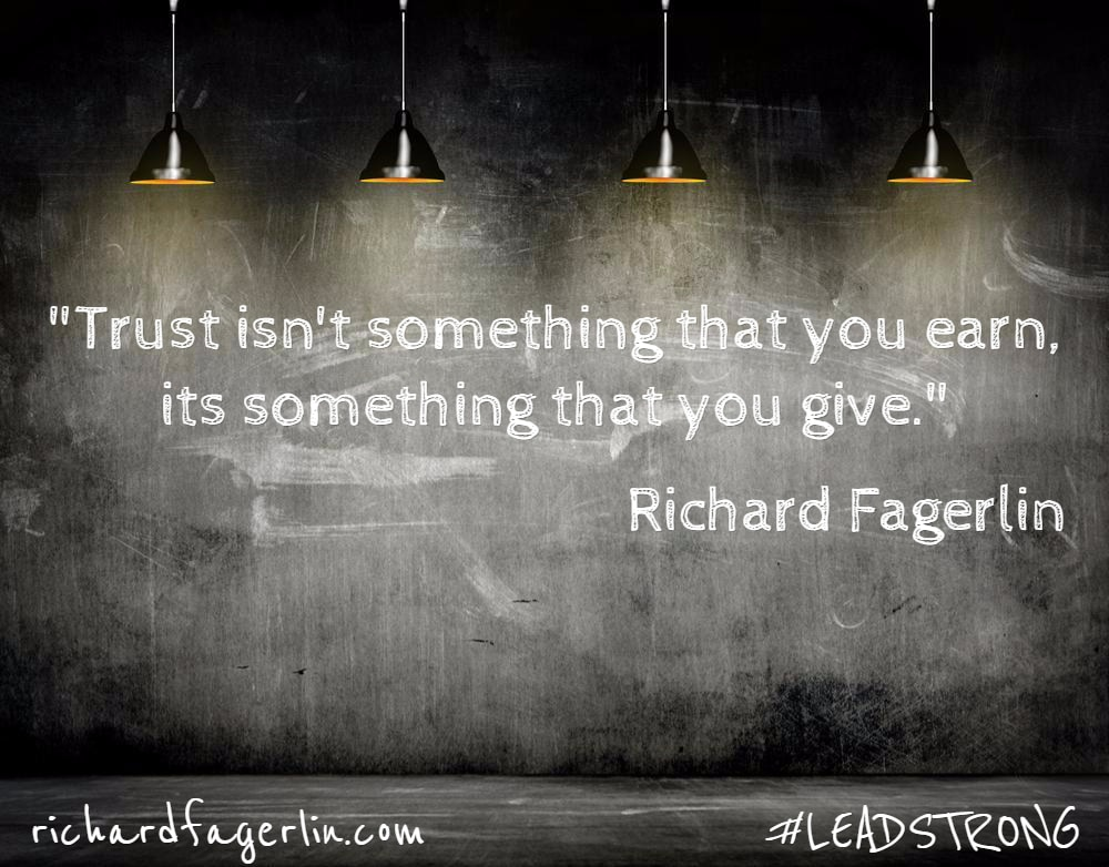 The BIG lie about TRUST – 5 reasons why trust is not earned