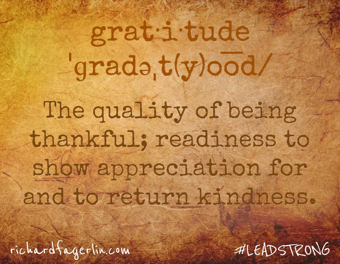 Being Thankful – 5 Ways to Build an Attitude of Gratitude