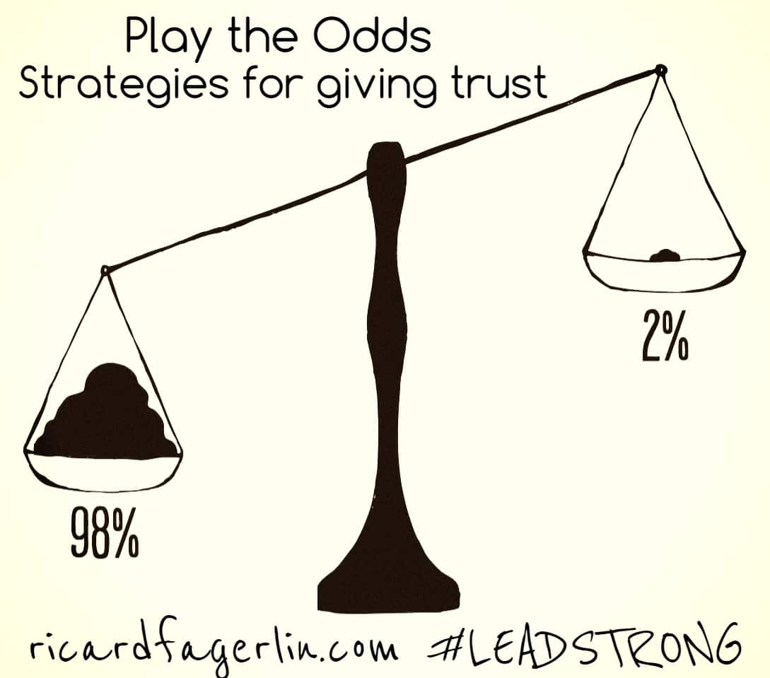 Play the Odds – 5 strategies for overcoming your fear of trust